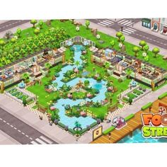 #FoodStreetGame Food Street Game, Restaurant Design, Game Design, Games, Pictures, Exercise, Beautiful, Ideas, Excercise
