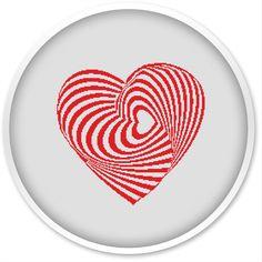 Heart Cross Stitch Pattern, Free shipping, Cross Stitch PDF, Cross stitch pattern, Love, Heart.#006 by WellStitches on Etsy https://www.etsy.com/listing/459858720/heart-cross-stitch-pattern-free-shipping