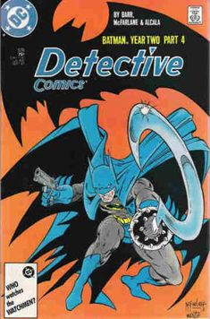 Batman - Gun - Barr - Approved By The Comics Code - Who Waches The Watchmen - Todd McFarlane