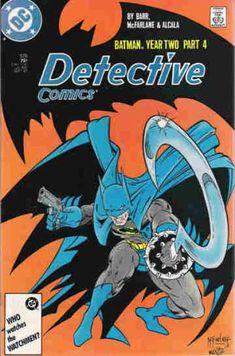Detective Comics Batman Year Two Part 4 -- Sept. 1987 No. Detective Comics Batman Year Two Part 4 Comic Book Héros Dc Comics, Batman Comics, Nightwing, Batgirl, Batman Detective Comics, Univers Dc, Batman Comic Books, Todd Mcfarlane, Batman Robin