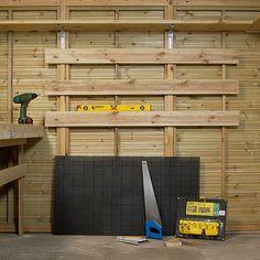 Slik innreder du garasjen med arbeidsbenk - viivilla.no Woodworking Projects Diy, Diy Projects, Carpentry, Man Cave, Garage, Mesas, Atelier, Folding Workbench, Bricolage