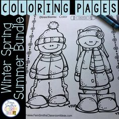 Color for Fun Second Semester Bundle for January to June. This DISCOUNTED bundle comes with a SUBSTANTIAL DISCOUNT of less than 3 cents a page compared to purchasing each resource separately. Your students will love how this coloring pages bundle has over 530+ Print and Go Coloring Pages for the Second Semester. Coloring Pages for January, Winter, Penguins, New Years, 100th Day of School, Dental Health, St. Valentine's Day, Groundhog Day, St. Patrick's Day, Spring, Easter, Earth Day…