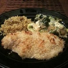 Baked Salmon with Coconut Crust - Allrecipes.com