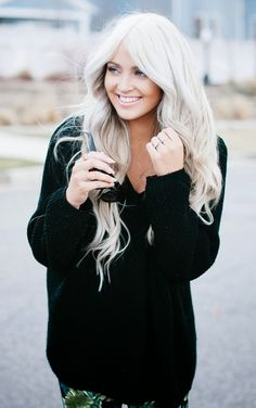 CARA LOREN-CARA LOREN HAIR... COLOR: brand is Matrix, TONER: brand is Redken--color is Titanium Purple Shampoo is to keep the color ashy 18' clip-ins Euronext--color is Blonde Frost 22' Bellami clip-ins in Ash Blonde-she used purple shampoo to get them Ashy