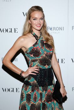 Lindsay Ellingson  - The Visionary World of Vogue Italia Exhibition