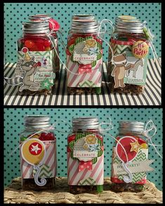 Card and Favor Jars