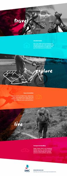 DMC Tour - Tourism Travel Company on Behance                              …
