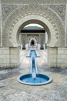 Beautiful Moroccan Pavilion by Szefei, via Dreamstime