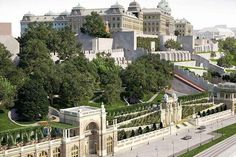 Budapest 2014 – new squares, parks and buildings Hungary