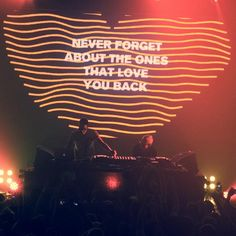 never forget about a thing called love