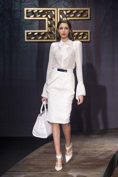 Sfilata Elisabetta Franchi Milano - Collezioni Autunno Inverno 2014-15 - Vogue