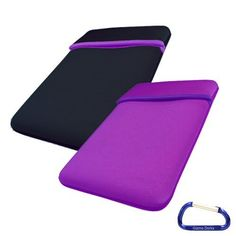 Gizmo Dorks Reversible Two-Tone Sleeve Cover Case (Purple Black) Amazon Kindle Paperwhite by Gizmo Dorks. $5.99. The neoprene sleeve protects your device from bumps and scratches. The thin profile and snug fit allows for easy transport. The reversible sleeve can be flipped inside out if you get tired of one color. It's like getting two cases in one!
