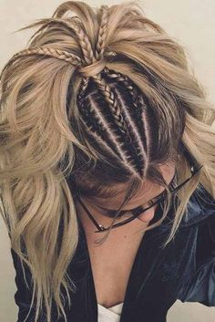 Best Women Haircuts Over Hair makeup Unless you have been living under a rock I am sure you are well aware the hair scrunchie trend is back., Hair Makeup, # Braids for men african americans pony frisur brille Pretty Hairstyles, Easy Hairstyles, Bohemian Hairstyles, Perfect Hairstyle, Everyday Hairstyles, Perfect Ponytail, Flower Hairstyles, Wild Hairstyles, Hairstyle Ideas