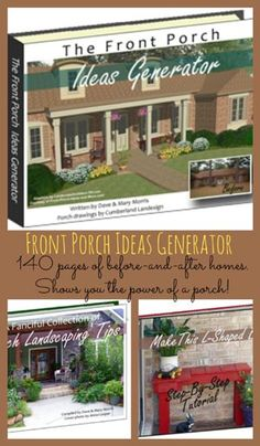 Front Porch Ideas Generator An EBook