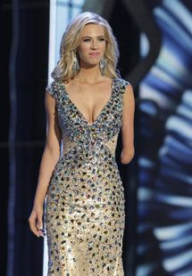 Miss Iowa Nicole Kelly is one of two contestants in this year's Miss America pageant with a disability. The winner will be crowned Sunday in...