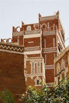 Old buildings in Yemen;  photo by Eric Lafforgue, via Flickr