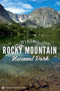 Rocky Mountain National Park is a National Park in Estes Park. Plan your road trip to Rocky Mountain National Park in CO with Roadtrippers. Colorado Springs, Colorado Hiking, Go Hiking, Denver Colorado, Hiking Trails, Colorado Rockies, Rocky Mountains, Places To Travel, Places To See