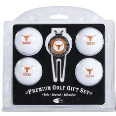 Team Golf Texas Longhorns Golf Ball/Divot Tool Set