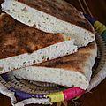 Matlouh : pain algérien à la semoule