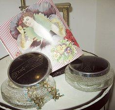 1920s Antique Dresser Jars Art Deco Designed by BettesBargains, $16.50