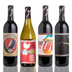i want!! just for display purposes!! no one would ever be allowed to drink. =)    Wines That Rock Mixed Case, $164.99, now featured on Fab.
