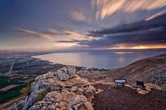 Mount Arbel lookout over the Sea of Galilee