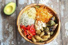 Nourish Bowl // nutritionstripped.com