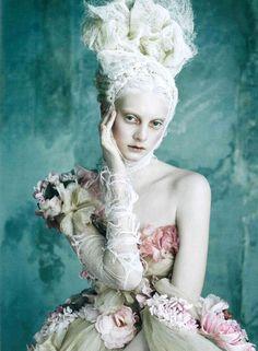 dolce-and-gabbana-alta-moda-spring-summer-2014-marie-antoinette-on-vogue-germany-shots-silk-dress.jpg 690×940 pixels