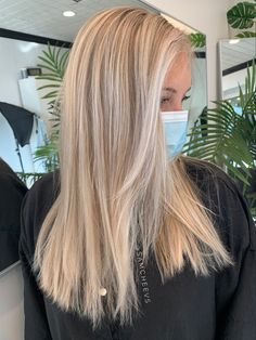 Bright white platinum blonde full foil highlights for naturally light hair Foil Highlights, Highlights For Blonde Hair, Platinum Blonde Hair, Girls World, Light Hair, Hair And Nails, Hair Makeup, Hair Color, Long Hair Styles