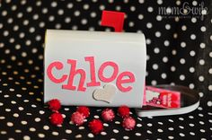 the sweetest little valentines day mailbox  could make this for sweetest day for the kids :)
