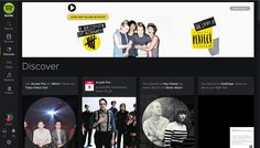 New Spotify Look