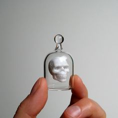 Miniature Skull in a Jar $95.00
