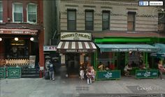 Mamoun's Falafel on McDougal Street in Greenwich Village, New York City....lots of brainstorming done here with me and my Blackpack during the 1970's!!!...oh, in case you didn't realize it, right next door is the famous Café Reggio, remember the movie Shaft?...I love New York!