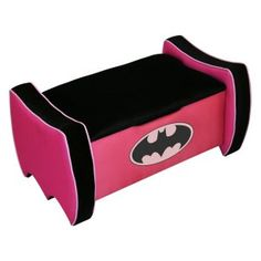 Its pink and Batman, what more needs to be said?