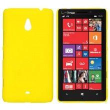 Coque Nokia Lumia 1320 Ultra Fine Jaune  5,99 €