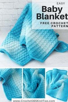 Crochet Sedge Stitch Baby Afghan - Crochet 365 Knit Too Learn the crochet sedge stitch with this easy crochet baby afghan pattern! Baby Afghan Crochet Patterns, Easy Crochet Blanket, Crochet Baby, Crochet Blankets, Crocheted Baby Afghans, Crochet Owls, Crochet Animals, Easy Stitch, Crochet Instructions