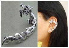 Ear cuff dragon, disponible en Monina accesorios https://www.facebook.com/Monina.store