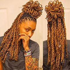African Female Hairc - February 07 2019 at Long Ponytail Hairstyles, Long Ponytails, Ponytail Styles, Dreadlock Hairstyles, Hairstyles Haircuts, Dreads Styles For Women, Dreadlock Styles, Locs Styles, Dreads Girl