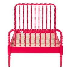 For this version of the room, I'm suggesting two Jenny Lind Beds in Raspberry.