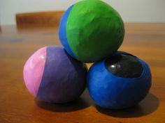 homemade juggling balls
