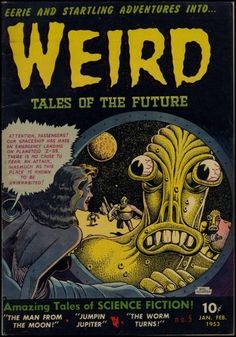 Weird Tales of the Future #5 basil wolverton 1953