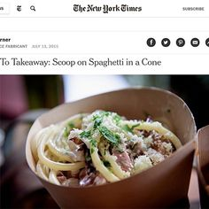 incidence | The Spaghetti Incident, restaurant in New York New York Food, New York Life, Restaurant New York, New York Travel, Food Truck, Spaghetti, Cooking Recipes, Nyc, Pasta