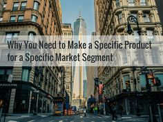 In this short post, you'll learn why you need to make a specific product or service for a specific market segment. Email Marketing, Content Marketing, Internet Marketing, Social Media Marketing, Digital Marketing, Professional Services, Explain Why, Case Study, Entrepreneurship