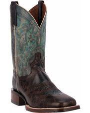 "Men's Teton 11"" Lava Boot, Chocolate / Turquoise"
