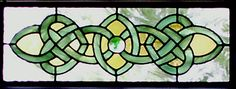 Celtic beautiful stained glass windows Photo | Celtic Stained Glass Window | Transom