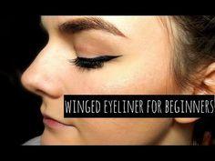 Winged Eyeliner for Beginners TIPS & TRICKS | BBE - YouTube