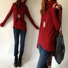 4 Skies  Poetic Knits Sweater Y3125 by idea2lifestyle on Etsy, $55.00