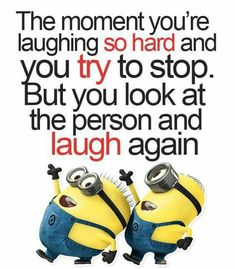 This is the BEST kind of laughter . Love it !