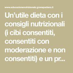 linee guida dietetiche per la distensione addominale