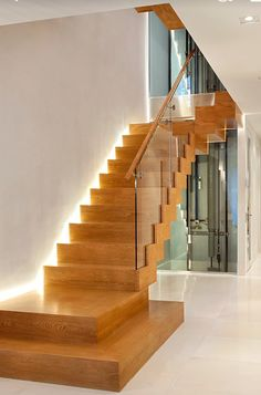 Home interior staircase design modern homes interior stairs designs ideas n Staircase Design Modern, Home Stairs Design, Contemporary Stairs, Modern Stairs, Interior Stairs, Contemporary Home Decor, Modern Design, Stair Design, Modern Interior